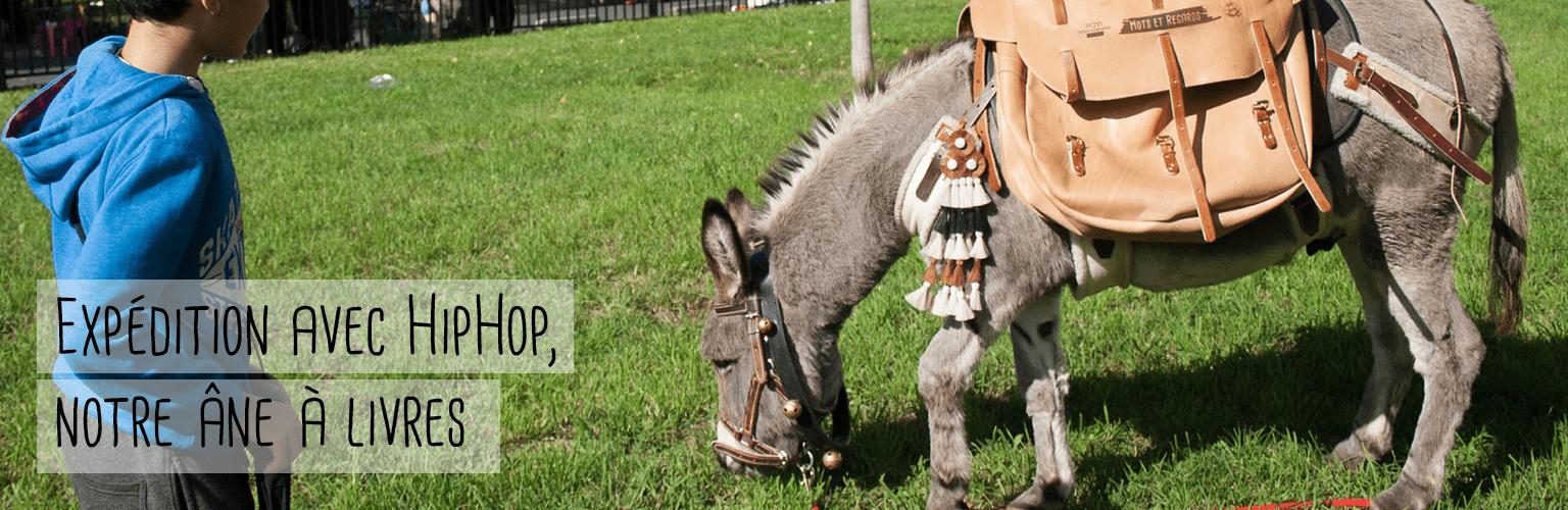 HipHop, l'âne à livre